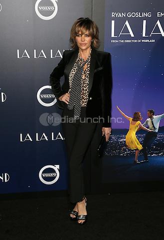 "Westwood, CA - DECEMBER 06:  Lisa Rinna, At Premiere Of Lionsgate's ""La La Land"" At Mann Village Theatre, California on December 06, 2016. Credit: Faye Sadou/MediaPunch"