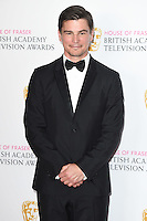 Josh Hartnett<br /> in the winners room at the 2016 BAFTA TV Awards, Royal Festival Hall, London<br /> <br /> <br /> &copy;Ash Knotek  D3115 8/05/2016