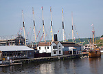 SS Great Britain and Matthew ship, Floating harbour, Hotwells, Bristol