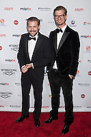 NEW YORK, NY - NOVEMBER 19: Joko Winterscheidt and Klass Heufer Umlauf at the 40th International Emmy Awards in New York. November 19, 2012. © Diego Corredor/MediaPunch Inc. /NortePhoto