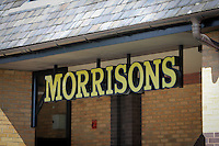 Morrisons Supermarket - sign