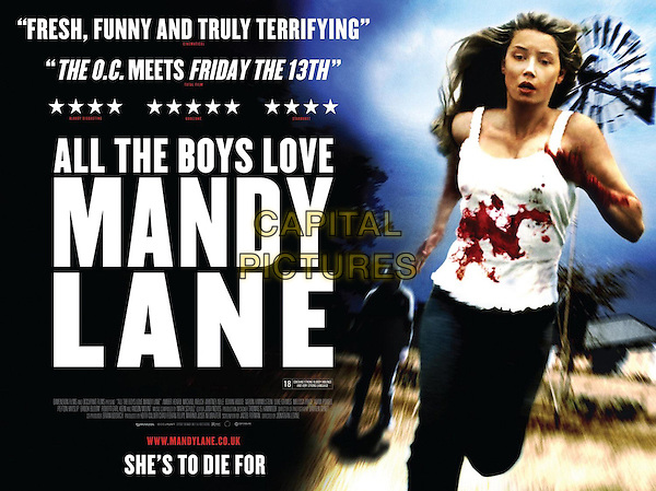 BRITISH POSTER ART<br /> in All the Boys Love Mandy Lane (2006) <br /> *Filmstill - Editorial Use Only*<br /> CAP/FB<br /> Image supplied by Capital Pictures