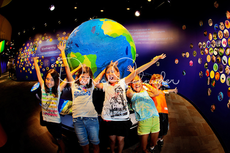 Visitors to Charlotte's Discovery Place museum learn about the biodiversity of the world. Discovery Place, Charlotte NC's interactive children's museum, unveiled its interactive exhibits and hands-on activities in June 2010. Renovations of the popular family museum were made possible by the City of Charlotte, the Arts and Science Council and private donations. Discovery Place museum has age-appropriate exhibits for kids of all ages.
