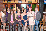 Leaving Party: Enjoying a  dinner with family & friend prior to her departure for New Zealand, Norma Foley, seated centre, at Casa Mia's Restaurant on Saturday night last...Seated: Noreen Foley, Norma Foley & Liz Foley. ..Standing: Margaret Fitzmaurice, Karen O'Connor, Siobhain O'Connor, Anne Foley, Eileen Foley, John O'Gorman, Miriam O'Connor &  Brian Fitmaurice.