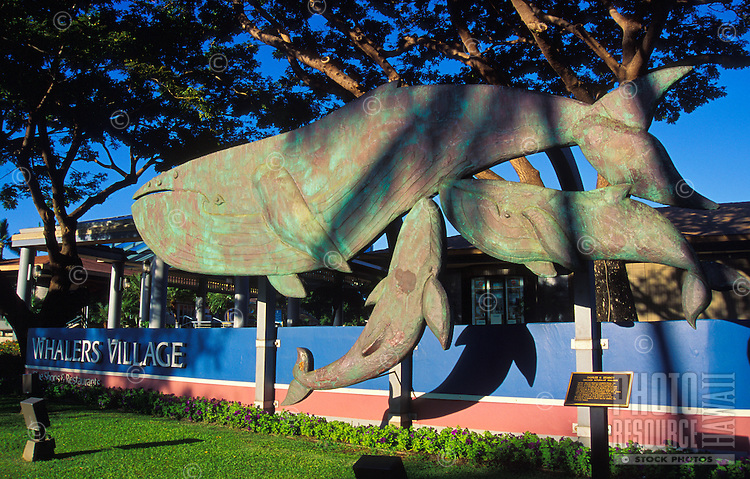 Whalers Village in the Kaanapali Resort area is home to two free whaling museums, an open-air shopping mall and three restaurants on the beach.