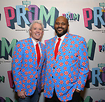 "Clay Aiken and Ruben Studdard Attends the Broadway Opening Night of ""The Prom"" at The Longacre Theatre on November 15, 2018 in New York City."