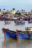 Fischerboote in Nha Trang, Vietnam
