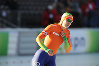 SCHAATSEN: BOEDAPEST: Essent ISU European Championships, 07-01-2012, 1500m Ladies, Ireen Wüst NED, ©foto Martin de Jong