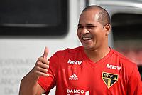 SÃO PAULO, SP, 30.06.2018 - TREINO SÃO PAULO – Aloisio Chulapa do São Paulo durante treino realizado no estádio do Morumbi em São Paulo, neste sabado, 30. (Foto: Levi Bianco/Brazil Photo Press)