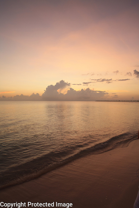 Sunset at 7 Mile Beach, Grand Cayman