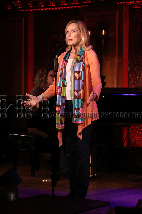Donna English perform a press preview of David Zippel's 'Princesses The Musical' at 54 Below on September 23, 2013 in New York City.