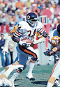 Chicago Bears Walter Payton (34) during a game against the Tampa Bay Buccaneers on September 30 1979 at Soldier Field in Chicago, Illinois.  Walter Payton played for 13 years, all with the Bears, was a  9-time Pro Bowler and was inducted to the Pro Football Hall of Fame in 1993.