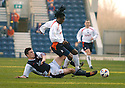 19/03/2005         Copyright Pic : James Stewart.File Name : jspa17_raith_v_falkirk.JOHN MARTIN CHALLENGES RUSSELL LATAPY.....Payments to :.James Stewart Photo Agency 19 Carronlea Drive, Falkirk. FK2 8DN      Vat Reg No. 607 6932 25.Office     : +44 (0)1324 570906     .Mobile   : +44 (0)7721 416997.Fax         : +44 (0)1324 570906.E-mail  :  jim@jspa.co.uk.If you require further information then contact Jim Stewart on any of the numbers above.........A