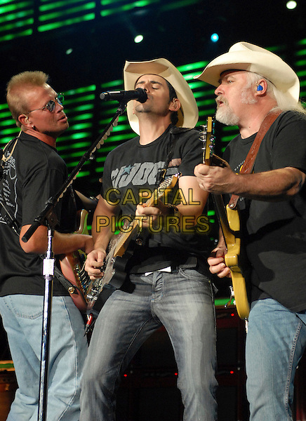 BRAD PAISLEY.Performs live at Walnut Creeek Ampthitheatre, Raleigh, North Carolina , USA..July 20th, 2007.full 3/4 length stage concert live gig performance music guitar jeans denim hat g.i. joe gi.CAP/ADM/MO.© Moose/AdMedia/Capital Pictures