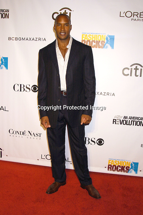 Henry Simmons ..at the Conde Nast Media Group Fashion Rocks second annual live concert on September 8, 2005 at Radio City Music Hall. ..Photo by Robin Platzer, Twin Images