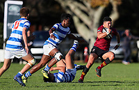 Kings College 1st XV v St Kents, Kings College, Saturday 25 May 2019 Photo: Simon Watts/www.bwmedia.co.nz