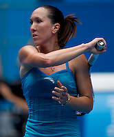 Jelena Jankovic (SRB) (8) against Alona Bondarenko (UKR) (31) in the Third Round of the Womes Singles. Bodarenko beat Jankovic 6-2 6-3..International Tennis - Australian Open Tennis - Fri 22 Jan 2010 - Melbourne Park - Melbourne - Australia ..© Frey - AMN Images, 1st Floor, Barry House, 20-22 Worple Road, London, SW19 4DH.Tel - +44 20 8947 0100.mfrey@advantagemedianet.com