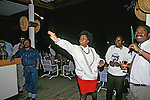 Woman Playing Darts At Nkopola Lodge