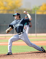 Anthony Vasquez, Seattle Mariners 2010 minor league spring training..Photo by:  Bill Mitchell/Four Seam Images.