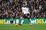 Tom Huddleston of Derby County during the championship league match between Derby and Millwall at Pride Park Stadium, Derby. Picture date 23rd December 2017. Picture credit should read: Joe Perch/Sportimage