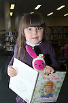 Únaín Donnan at Storytime in Drogheda Library as part of World Book Day....Photo NEWSFILE/Jenny Matthews.