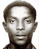 The United States Federal Bureau of Investigation (FBI) is seeking information on the activities of Fazul Abdullah Mohammed.  This photo was released in Washington, D.C. on May 26, 2004.  He is being sought in connection with possible terrorist threats against the United States.  Mohammed was indicted in the United States for the bombings of the United States embassies in Dar Es Salaam, Tanzania and Nairobi, Kenya. He should be considered armed and dangerous..Fazul Abdullah Mohammed was killed on Tuesday, June 7, 2011 by Somali Security Forces at a government-run checkpoint..Credit: FBI Photo via CNP