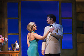 "Paulo Szot as Emile De Becque and Samantha Womack as Nellie Forbush. Ex-Eastenders Actress Samantha Womack stars as Nellie Forbush in the Rogers and Hammerstein musical ""South Pacific"", running at the Barbican Theatre, London."