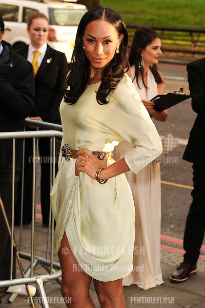 Jade Johnson arrives for The Asian Awards 2014 at the Grosvenor House Hotel, London. 04/04/2014 Picture by: Steve Vas / Featureflash