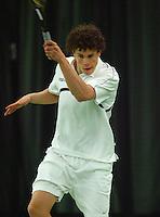 10-3-06, Netherlands, tennis, Rotterdam, National indoor junior tennis championchips, Phillipe Brand