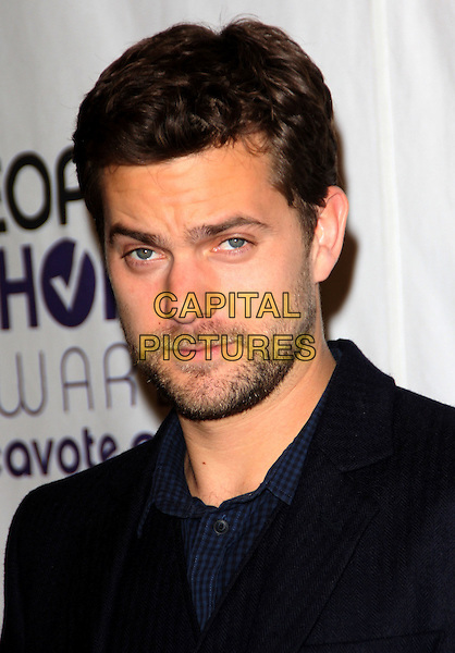 JOSHUA JACKSON .People's Choice Awards Nominees Announcement held at The Peninsula Hotel, Beverly Hills, California, USA, .10th November 2008..portrait headshot beard facial hair stubble .CAP/ADM/KB.©Kevan Brooks/Admedia/Capital PIctures
