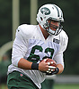 Alex Balducci #62 practices during New York Jets Training Camp at the Atlantic Health Jets Training Center in Florham Park, NJ on Monday, Aug. 14, 2017.