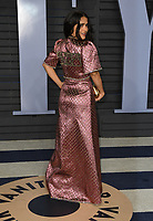 04 March 2018 - Los Angeles, California - Salma Hayek. 2018 Vanity Fair Oscar Party hosted following the 90th Academy Awards held at the Wallis Annenberg Center for the Performing Arts. <br /> CAP/ADM/BT<br /> &copy;BT/ADM/Capital Pictures
