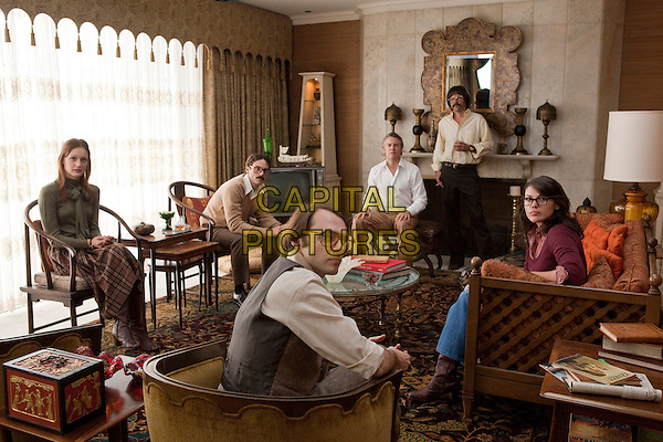 KERRY BISHE, SCOOT McNAIRY, TATE DONOVAN, RORY COCHRANE, CLEA DuVALL & CHRISTOPHER DENHAM.in Argo (2012) .*Filmstill - Editorial Use Only*.CAP/FB.Supplied by Capital Pictures.