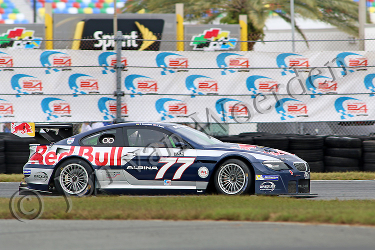 Red Bull Alpina B6 GT3 at HSR  Historic Sportscar Racing 2015 Classic 24 Hour at Daytona