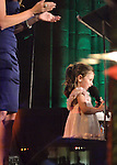 Avery Lind speaks at the Holly's Angels Gala for Making Headway Foundation at Cipriani in New York City.   The benefit honored the memory of Holly Lind, Avery's mother. Making Headway provides medical and social services for pediatric brain and spinal chord cancer patients and their families.
