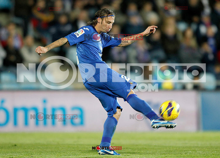 Getafe's Alexis Ruano during La Liga match.November 18,2012. (ALTERPHOTOS/Acero) NortePhoto