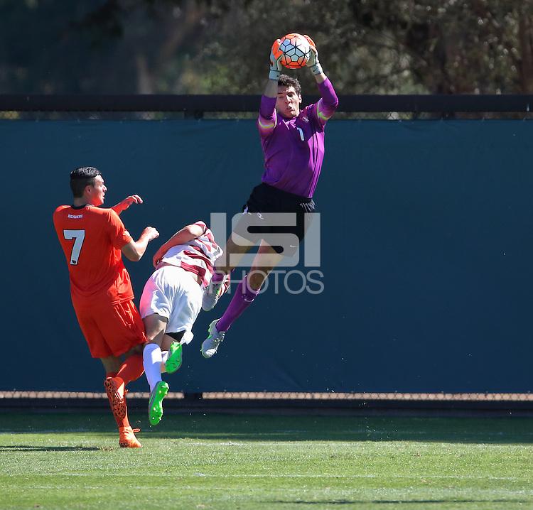 Stanford, CA; Sunday October 11, 2015; Men's Soccer, Stanford vs Oregon State.