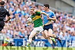 Colm Cooper Kerry in action against Diarmuid Connolly Dublin in the All Ireland Senior Football Semi Final at Croke Park on Sunday.