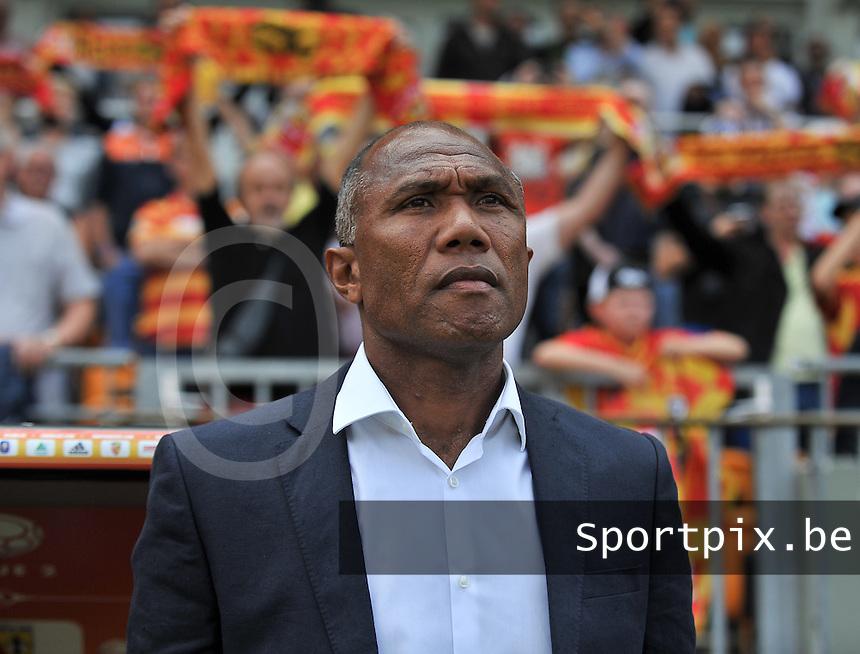 RC Lens - AJ Auxerre : Antoine Kombouare<br /> foto David Catry / nikonpro.be