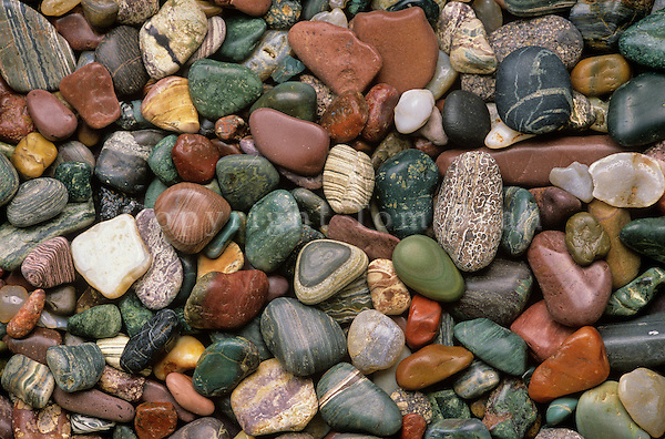 Beach pebbles collected from Agate Beach on Kupreanof Island in Southeast Alaska, AGPix_0142.