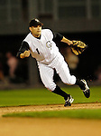 7 September 2006: Jamey Carroll, second baseman for the Colorado Rockies, in action against the Washington Nationals. Carroll went 3 for 5 with 2 RBIs as the Rockies defeated the Nationals 10-5 in a rain-delayed game at Coors Field in Denver, Colorado. ..Mandatory Photo Credit: Ed Wolfstein..