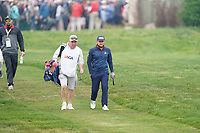 Tyrrell Hatton (ENG) on the 17th fairway during the final round of the US Open Championship, Pebble Beach Golf Links, Monterrey, Calafornia, USA. 16/06/2019.<br /> Picture Fran Caffrey / Golffile.ie<br /> <br /> All photo usage must carry mandatory copyright credit (© Golffile | Fran Caffrey)