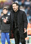 Atletico de Madrid's coach Diego Pablo Simeone during La Liga match. February 14,2016. (ALTERPHOTOS/Acero)