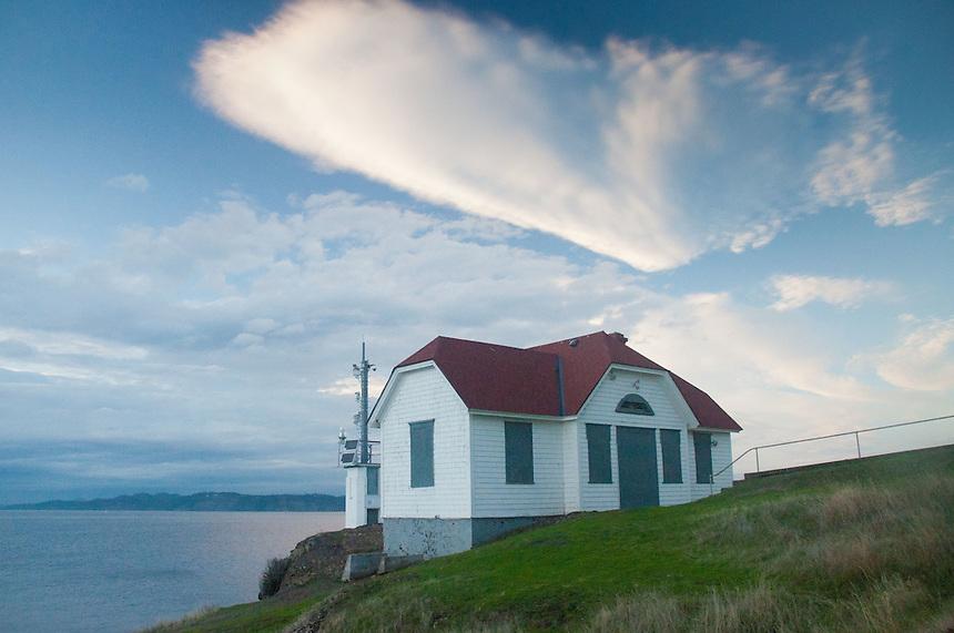 Lighthouse at Turn Point, Stuart Island, Washington, US