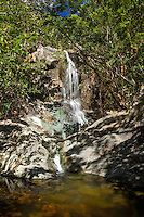Reef Bay Waterfall and Petroglyphs<br /> Virgin Islands National Park<br /> St. John, U.S. Virgin Islands