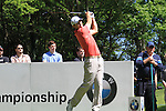 Padraig Harrington teeing of on the third.during round three of the BMW PGA championship 2010 at Wentworth golf club, Surrey England..Picture Fran Caffrey/Newsfile.ie