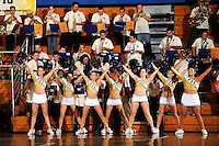 14 November 2008:  The FIU Cheerleaders and band help fire up the crowd during the Wisconsin-Green Bay 68-45 victory over FIU at FIU Arena in Miami, Florida.