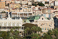View of downtown Mote Carlo, Monaco