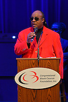 February 26, 2013  (Washington, DC)  Grammy Award winning artist Stevie Wonder accepts the 2013 Avoice Heritage Distinguished Individual Award at the historic Howard Theatre in D.C. (Photo by Don Baxter/Media Images International)