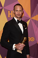 BEVERLY HILLS, CA - JANUARY 7: Alexander Skarsgard at the HBO Golden Globes After Party, Beverly Hilton, Beverly Hills, California on January 7, 2018. <br /> CAP/MPI/DE<br /> &copy;DE//MPI/Capital Pictures